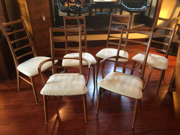 SOLD – Koefoeds Hornslet Dining Chairs, Set of 6