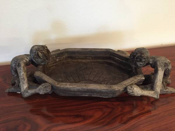 SOLD – Ethnic Hand Carved Bowl / Art Piece