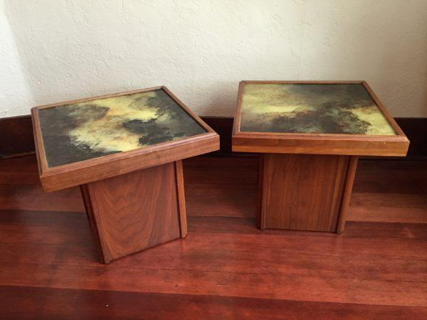 SOLD – John Keal Brown Saltman End Tables