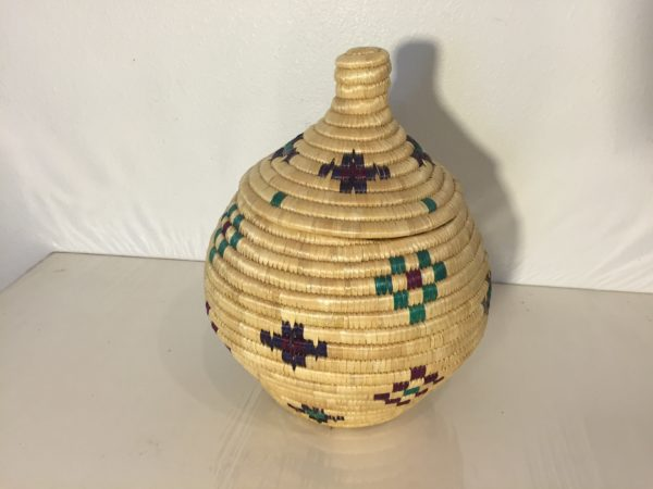 Inuit Alaskan Lidded Basket – $125