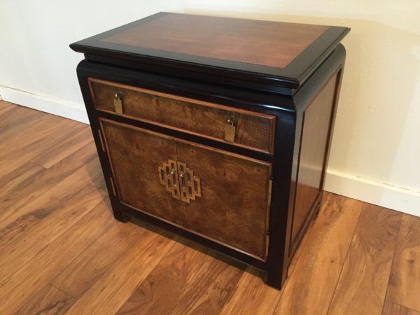SOLD – Century Furniture Chin Hua Burl Nightstand