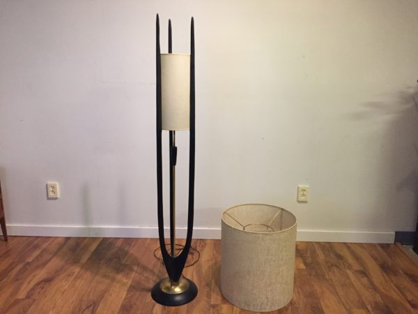 SOLD – Mid Century Floor Lamp by Modeline