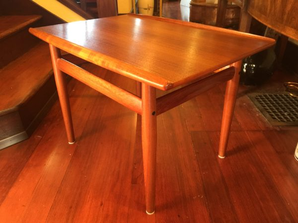 SOLD – Grete Jalk Danish Teak Side Table