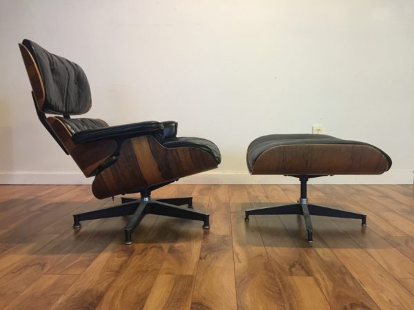 SOLD – Eames 670/671 Leather Chair and Ottoman