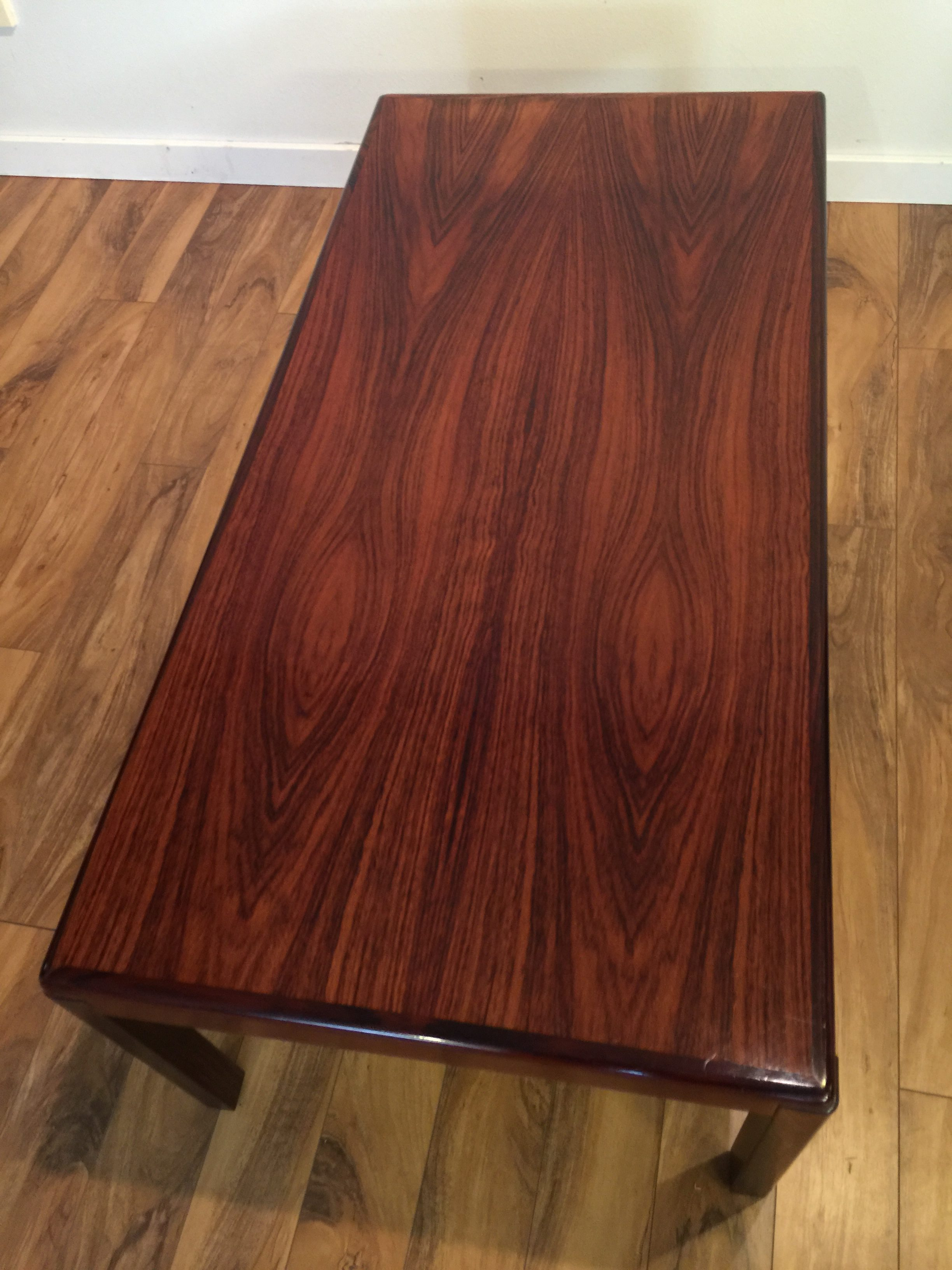 Sold Vejle Stole Danish Rosewood Coffee Table Modern