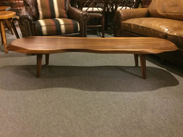 SOLD – Monkey Pod Slab Coffee Table