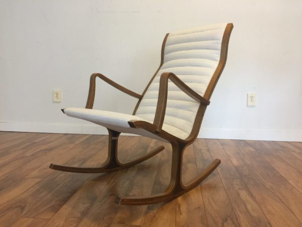 "SOLD – Tendo Mokko ""Heron"" Rocking Chair"