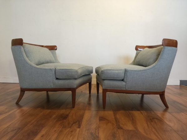 SOLD – Pair Tomlinson Sophisticate Chairs