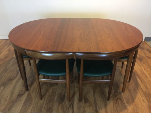 SOLD – Hans Olsen Roundette Dining Table & 6 Chairs