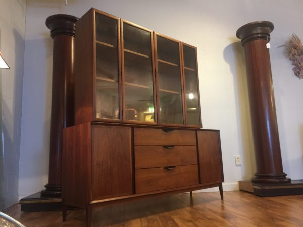 SOLD – Dillingham Mid Century Sideboard Hutch
