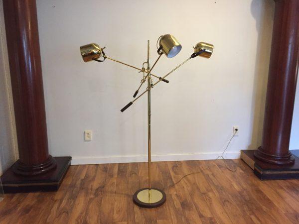 Reggiani Style Mid Century Floor Lamp – $850