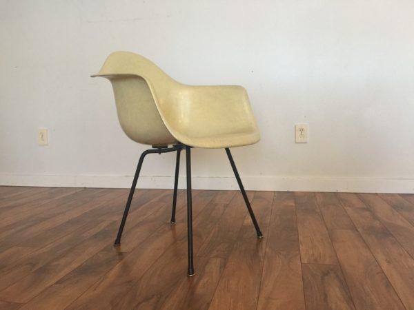 Eames Herman Miller Lemon Yellow DAX Chair – $1200