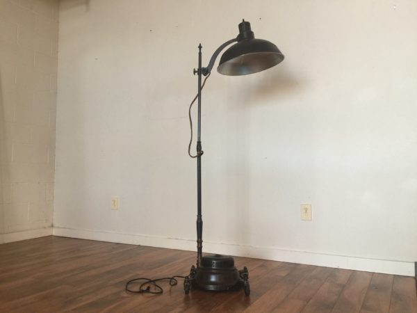General Electric Converted Sun Lamp Floor Lamp – $450
