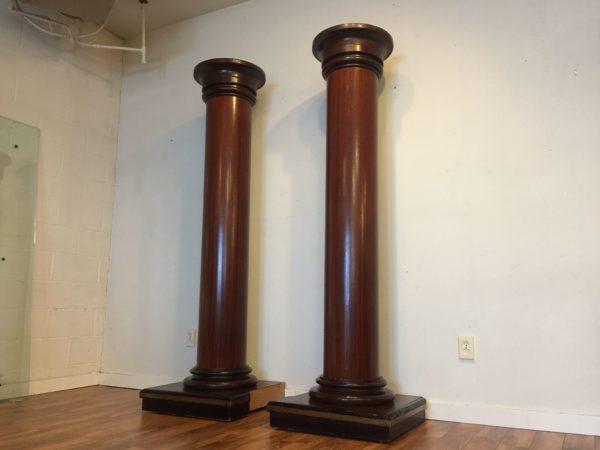 Pair of Large Pillars – $875