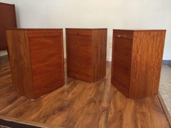 Danish Teak File Cabinet – $390