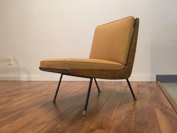 Thonet Mid Century Boomerang Chair – $850