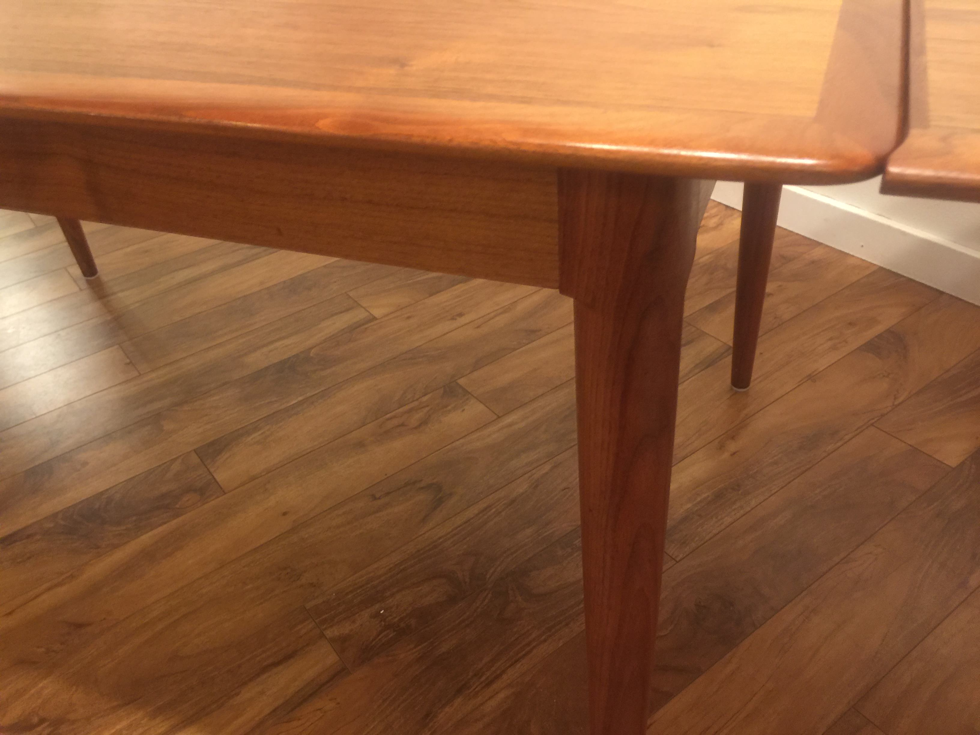 Sold Skovmand Amp Andersen Teak Dining Table Modern To