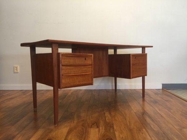SOLD – Peter Lovig Nielsen Danish Teak Desk