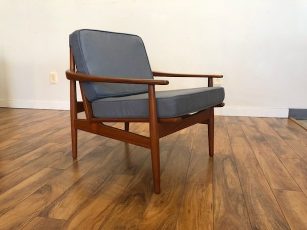Grete Jalk Danish Teak Lounge Chair – $1275