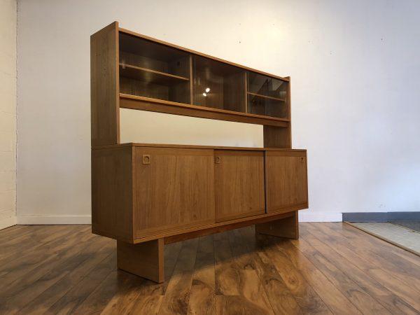 Danish Teak Sideboard with Hutch – $1175