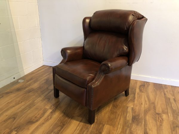 Hancock & Moore Leather Recliner – $975