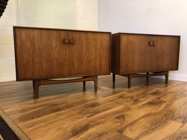 Pair of Kofod Larsen Mid Century Cabinets – $1995