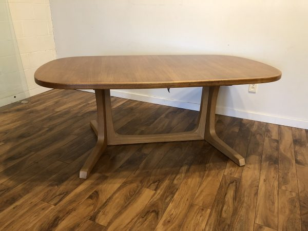 Gudme Mobelfabrik Danish Teak Dining Table – $1095
