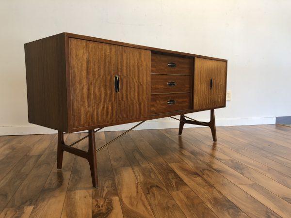 Herbert E Gibbs Mid Century Modern Sideboard – $1990