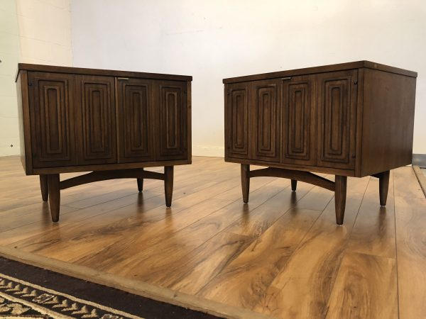 Broyhill Sculptra Nightstands, Pair – $750
