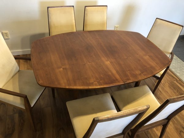 SOLD – Dillingham Mid Century Dining Table & 6 Chairs