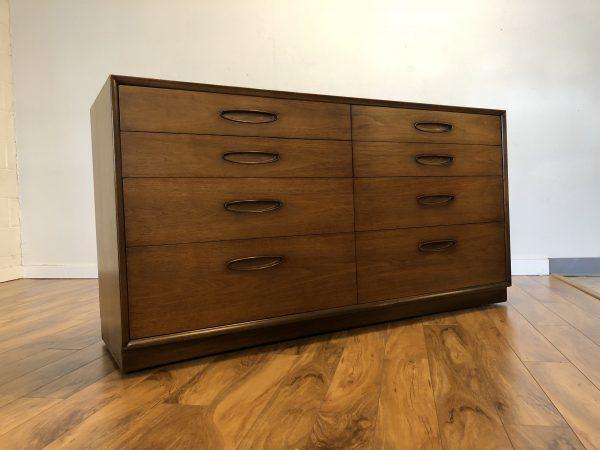 "Henredon ""Circa '60"" Lowboy Dresser – $975"