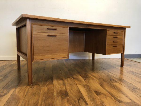 SOLD – FM Mobler Danish Teak Desk