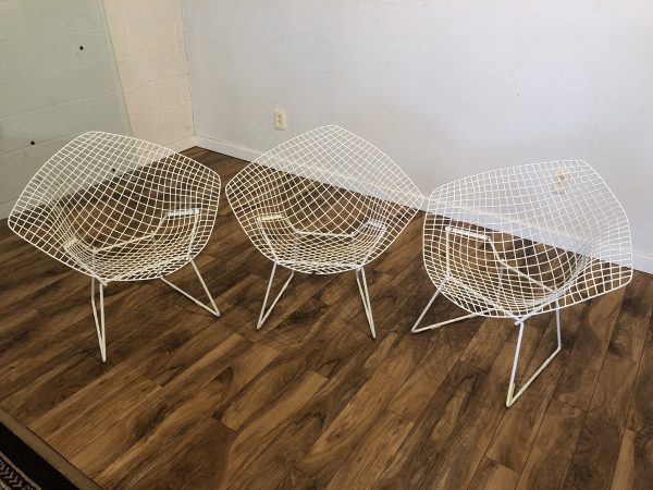 Vintage Knoll Bertoia Diamond Chairs – $650 each