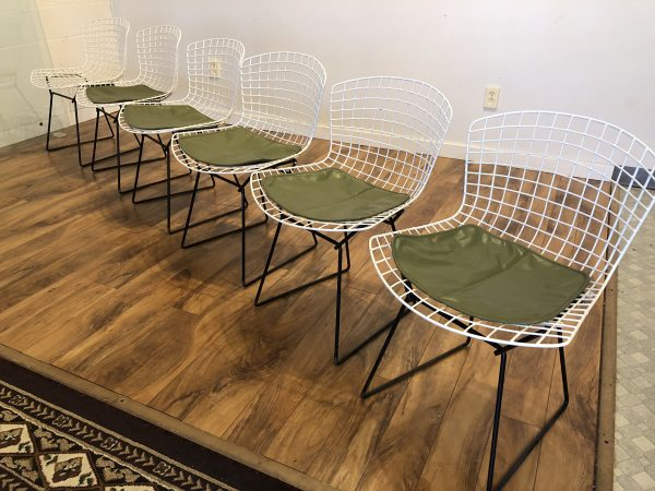 Bertoia Dining Chairs, Set of 6 – $1800