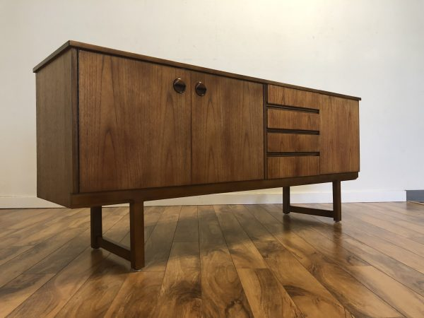Long Teak Sideboard Bar – $1595