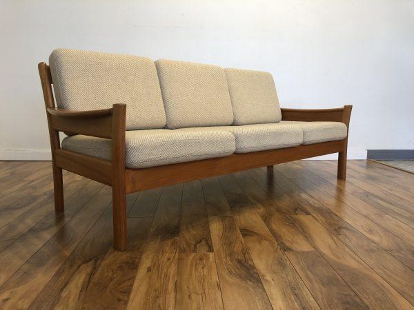 SOLD – Dyrlund Danish Modern Teak Sofa