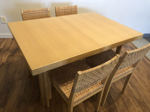 Alvar Aalto Dining Set – $3750