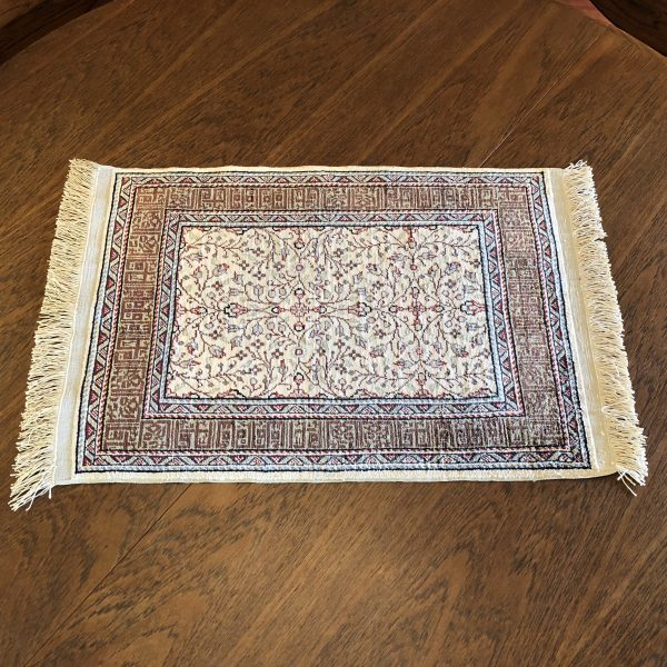 Silk on Silk Small Turkish Rug – $1200