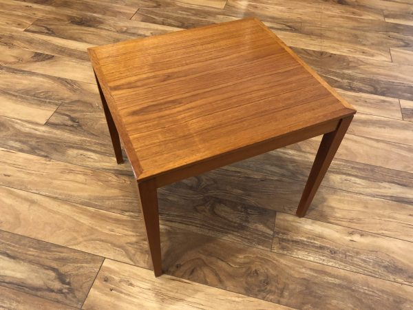 Bent Silberg Danish Teak End Table – $125