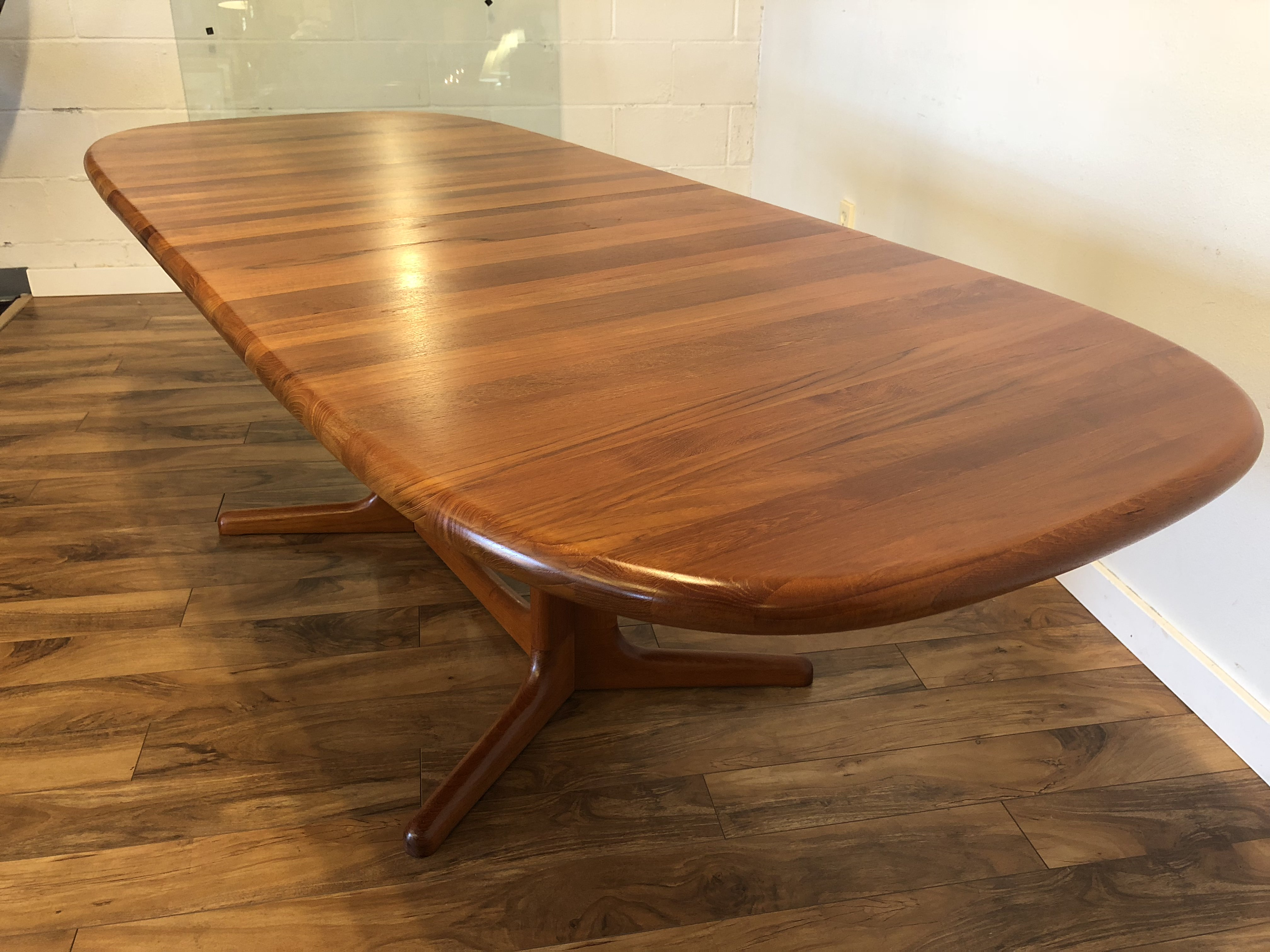 SOLD - Glostrup Danish Solid Teak Dining Table - Modern to ...