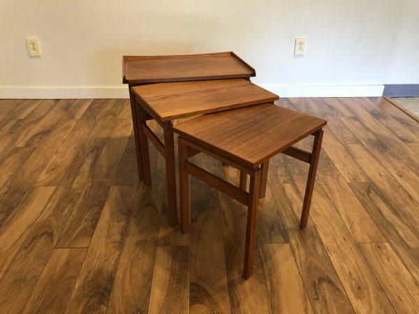 Moreddi Danish Teak Nesting Tables – $750