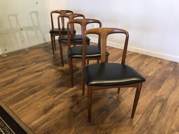 "Johannes Andersen ""Juliane"" Dining Chairs, Set of 4 – $1650"