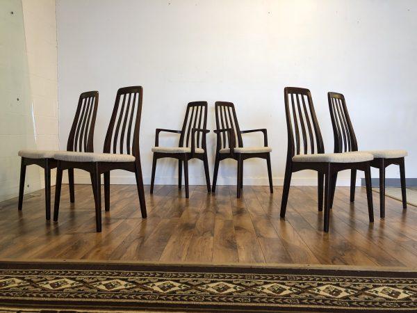 SOLD – Svegards Mobler Rosewood Dining Chair Set