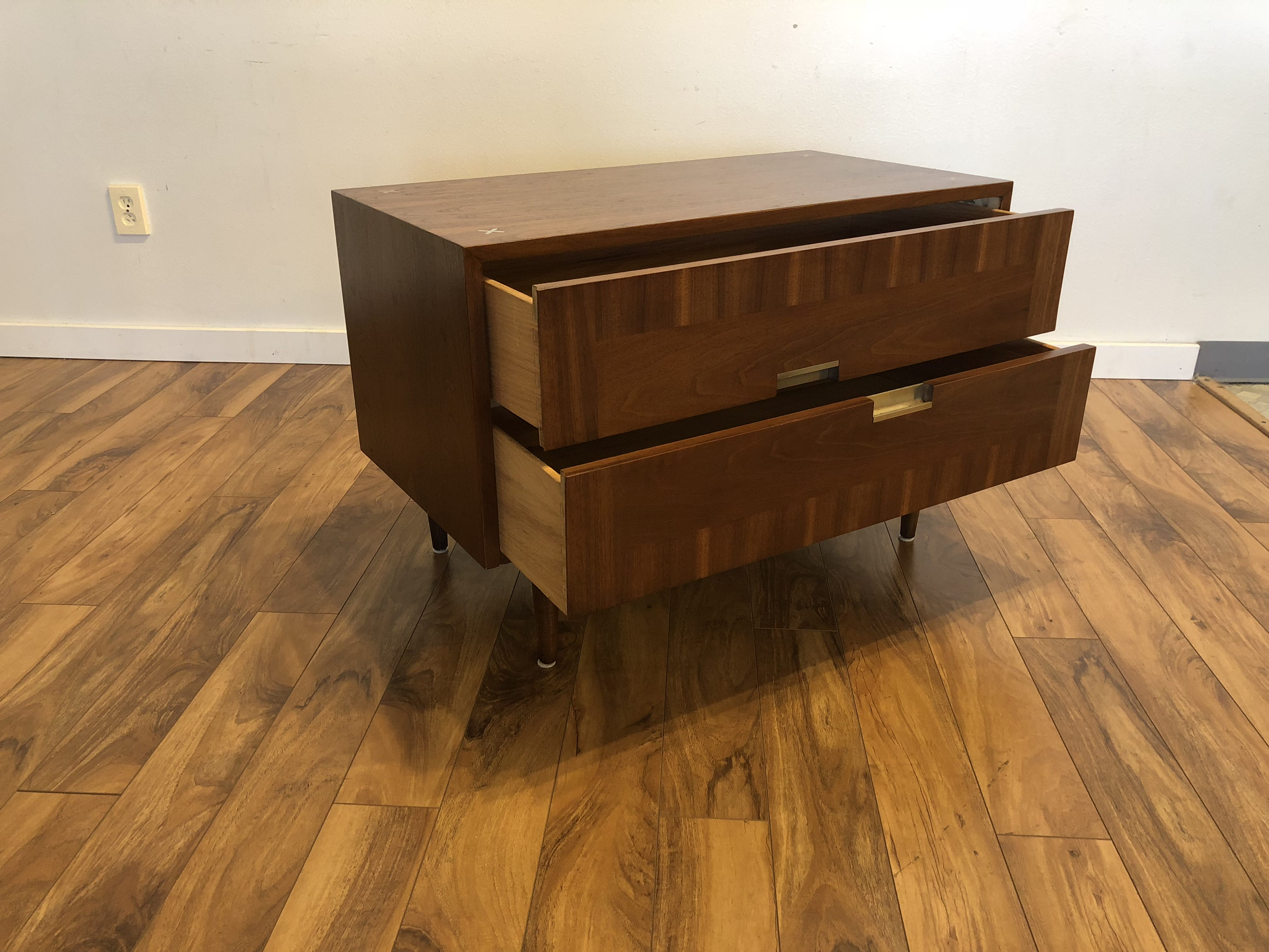 Sold American Of Martinsville Low Chest Modern To Vintage