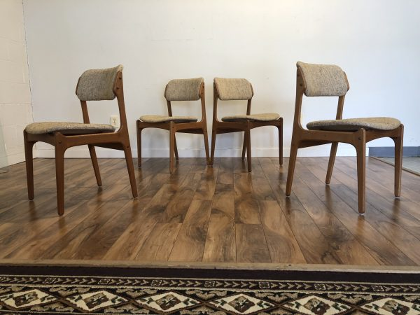 Erik Buch Model 49 Dining Chairs – $1195