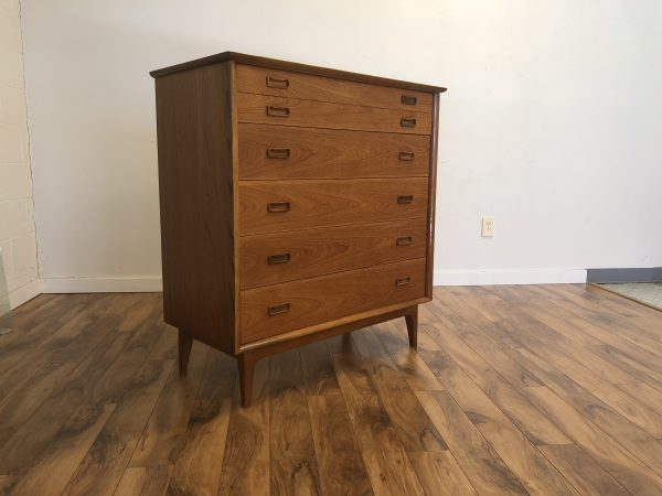 Mid Century Highboy Dresser – $795