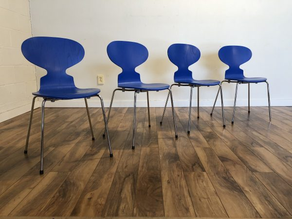 Arne Jacobsen Ant Chairs, Set of 4 – $995