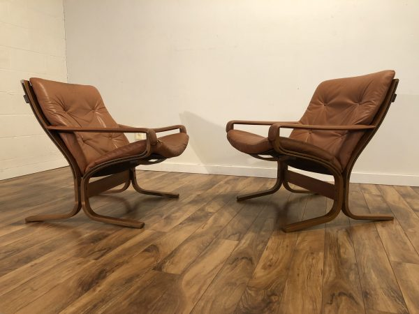Westnofa Vintage Siesta Chairs, Pair – $1650