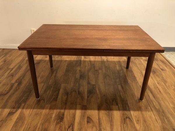 SOLD – Danish Teak Draw Leaf Dining Table