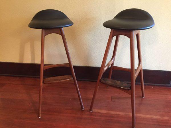 Erik Buch Bar Stools Pair – $1250